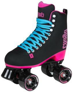 New! Chaya Melrose Black & Pink Quad Indoor / Outdoor Roller
