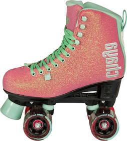 New! Pink Chaya Melrose Glitter Quad Indoor / Outdoor Dance