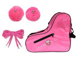 New! EPIC Skates Pink Roller Skate Accessory 3 Pc. Bundle Ba