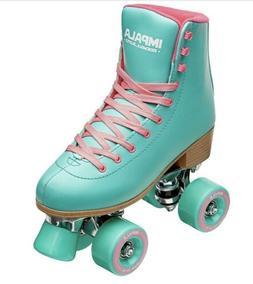 🔥 NEW Impala Quad Roller Skates Aqua Size 8 Vegan IN HAND