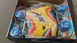 NEW Moxi Rainbow Rider Roller Skates Sunshine Yellow Size 7