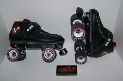 NEW VANILLA RENEGADE CUSTOM LEATHER ROLLER SKATES MENS SIZE