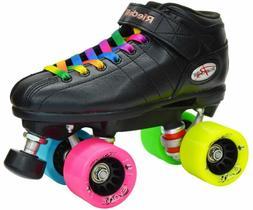 NEW Riedell R3 Rainbow Evolve Quad Roller Derby Speed Skates