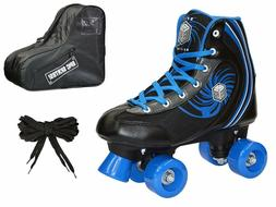 New! Epic Rock Candy Quad Roller Skates 3 Pc. Bundle with Sk