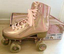 New Impala Rose Gold Roller Skates Metallic Pink Size 5 marb