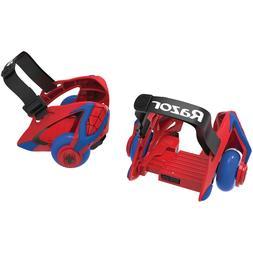 New Razor Spiderman Jetts Heel Wheels Sparks Skates Roller K