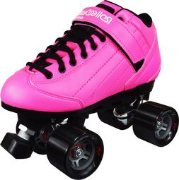 NEW! ROLLER DERBY STOMP 5 ELITE PINK MEN's/WOMEN's 5-11 QUAD