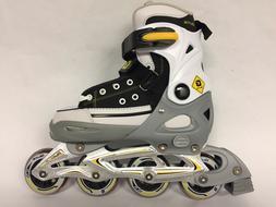 New Unisex Inline skates In-line Roller Skating Adjustable S