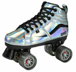 New! Chaya Vintage Glide Chrome Quad Roller Skates - Vegan