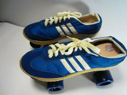 NEW Vintage Men's Nash 3 Stripe Tennis Shoes Roller Skates S