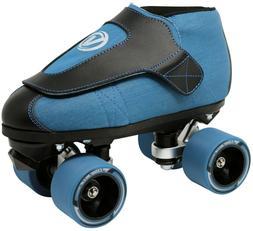 New!  Vanilla VNLA Code Blue Black & Blue Denim Quad Roller