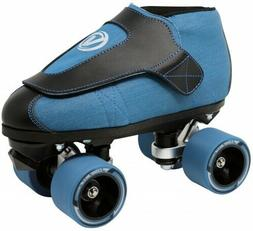 New VNLA Junior Jam Code Blue Vanilla Roller Skates Toe Stop
