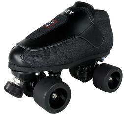 New VNLA Junior Jam Stealth Black Roller Skates