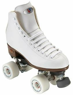 New White Riedell Angel Quad Artistic Roller Skates - Choose