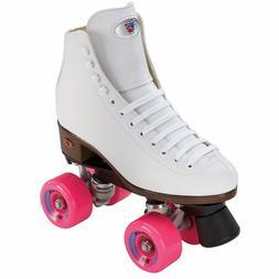 New! White Riedell Citizen Quad Skates w/ Outdoor ZEN Wheels