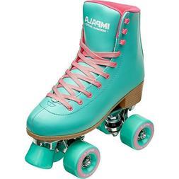 NIB Impala Quad Roller skates Aqua Size 7