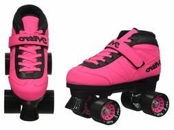 Epic Nitro Turbo Pink Quad Speed Skates  -Youth size 3