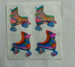 Sandylion OPAL ROLLER SKATES - 1 Square Vintage Stickers RET
