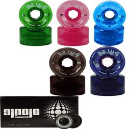 Outdoor Roller Skate Wheels and 8mm Bearing Atom Pulse with