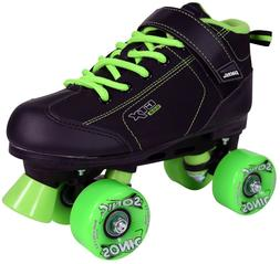 Outdoor Roller Skates Pacer GTX 500 Black and Green Sonic Wh