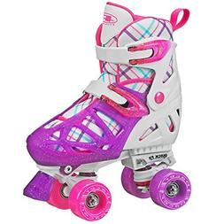 Pacer XT70 Adjustable Artistic Quad Roller Skates for Youth