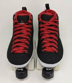 Chaya Park Roller Skates Karma Black w Grindblocks Size 8 Qu