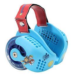 PlayWheels PAW Patrol Heel Wheel Skates, Red/Dark Blue