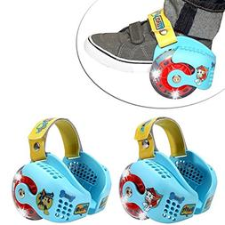 Paw Patrol Led Light-Up Heel Wheel Roller Skates Adjustable