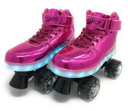 Chicago Skates Pink Pulse Light-up Roller Skates