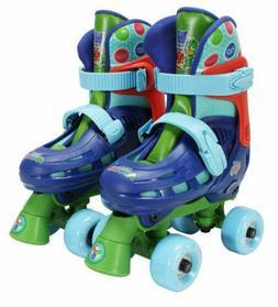 PlayWheels PJ Masks Beginner Quad Roller Skates w/ Toe Brake