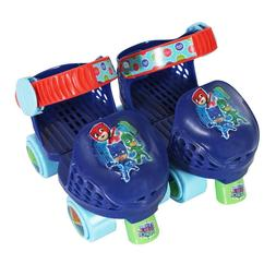 PlayWheels PJ Masks Roller Skates with Knee Pads Junior Size