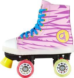 Playlife Lunatic LED Light Up Pink & Purple Quad Roller Skat