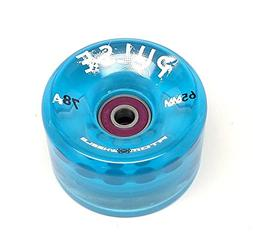 Atom Pulse Outdoor Skate Wheels With Moto Deluxe Bearings In