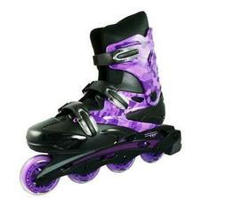 Linear Purple Camo Inline Skates - Indoor- Outdoor Skates Yo