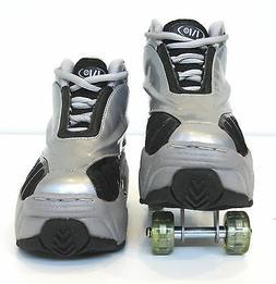 Quad KICK ROLLER Skates retractable WALKnROLL in/outdoor ORI