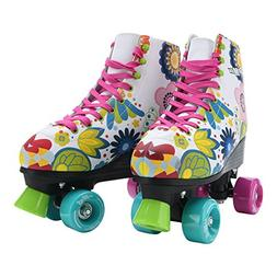 Stemax Quad Roller Skates for Girls / Outdoor Classic High C