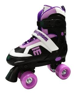 Mongoose Girl's Quad Roller Skates, Large