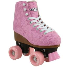 Quad Roller Skates for Girls and Women Size 8.5 Women Pink F