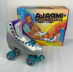 Impala Quad Roller Skates - Holographic Size 7 NEW
