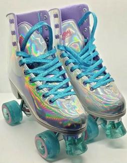 Impala Quad Roller Skates - Holographic - Size 9 - Brand New
