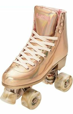🔥🔥🔥Impala Quad Roller Skates Pink/Yellow Size 8 *IN