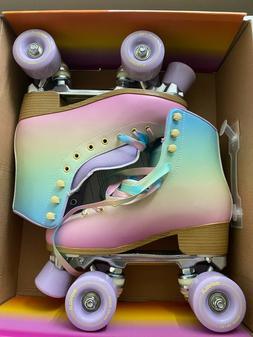 quad roller skates pastel fade size 6