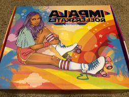 Impala - Quad Roller Skates | Vegan - Womens | Black Multi S