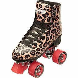 Impala - Quad Roller Skates | Vegan - Leopard - Women's Size