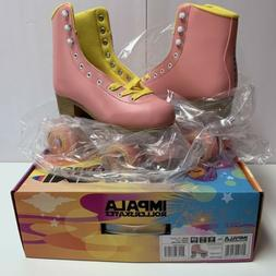 Impala - Quad Roller Skates   Vegan - Womens   Pink / Yellow