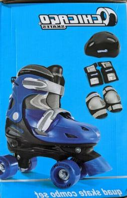 Chicago Boys Quad Roller Skate Combo, Small