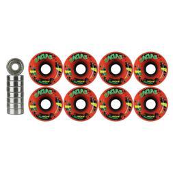 Radar Quickie Stickie Quad Wheels Derby Roller Skate 57mm x