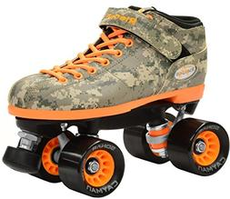 New Riedell R3 Digital Camo Quad Roller Derby Speed Skates