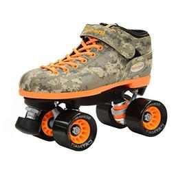 Riedell R3 Camo Speed Roller Skates 2015 6.0