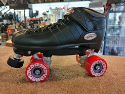 Riedell R3 OUTDOOR roller skate quad size 8 men's black fits